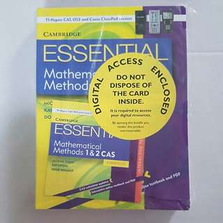 Essential Mathematical Methods units 1 and 2 year 11