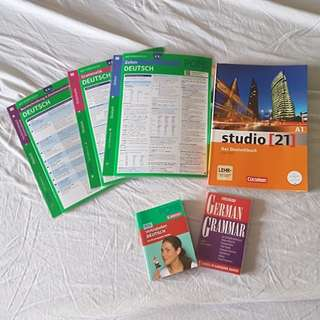 German Textbooks to learn the language studio 21 A1 and others - NEW!