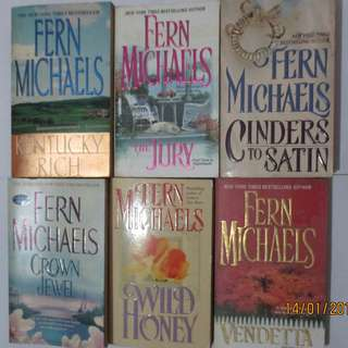 Fern Michael, Paperbacks, Pre-loved Book, Books, Softbound