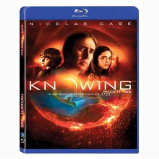 Knowing (Blu Ray) Includes Slipcover
