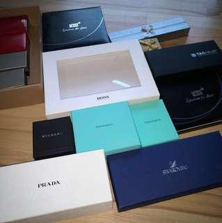 Various branded gift box #Midjan55
