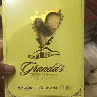GRANDA'S BUTTER SILVANAS