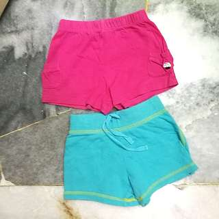Carter's Short Pants 24M x 2 pcs