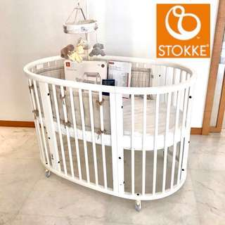 Stokke brand new condition cot