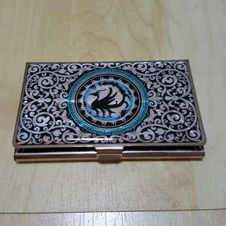 Ornate name card holder