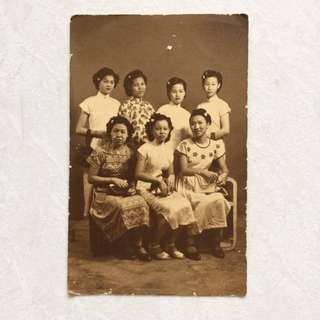 Vintage Old Photo - very old photograph (9 by 14 cm)