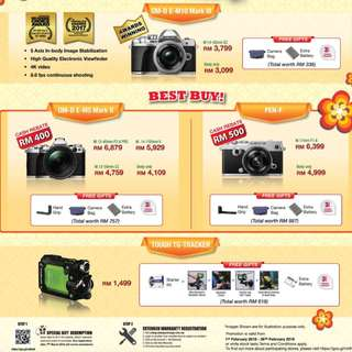 Olympus Chinese New Year Promotion