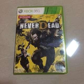 Xbox 360 Game NeverDead