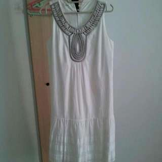 Brand new embroidery dress at $12!