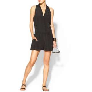 Elizabeth & James Carrie Silk Romper
