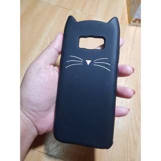 Cute Cat Silicon Case for Samsung S8