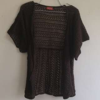 Outer Knitted Brown