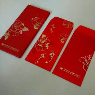 Credit Agricole Red Packet 10pcs/ packet with box