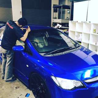 Full wrapping for cars