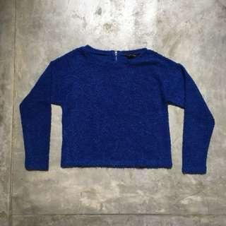 [Preloved] Blue Sweater