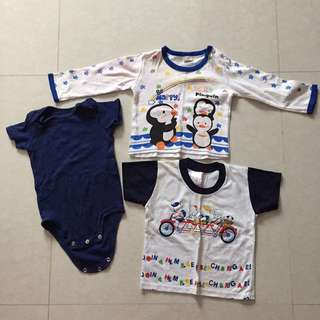Baby Clothes romper long sleeve top 6-12 months carters