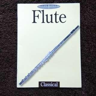 Classical Flute Scores