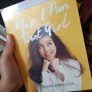 "Maine Mendoza's ""Yup, I am that Girl"""