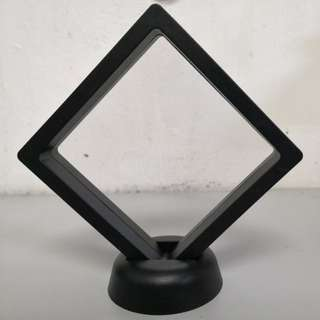 3D Plastic frame for amulet and accessories