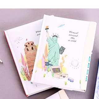 Diary Books Theme