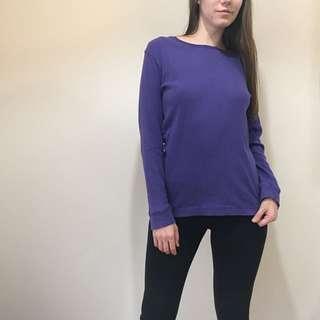 Purple long sleeve