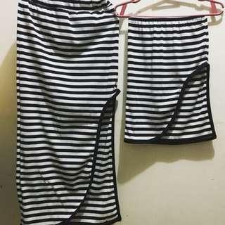 Matchy Maxi Skirt