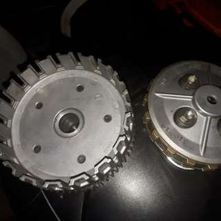 rumah cluth plate satu set yamaha lc135 4s om