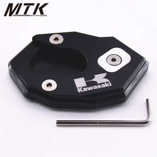 Kawasaki Z1000 SX EN6N EN6F EN6N ZX10R Z900 Z650 side stand kickstand kick stand big foot enlarger plate pad extension