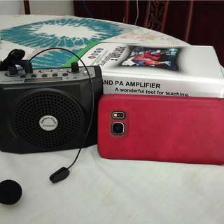 Voice amplifier for presenters - discounted