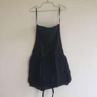 Tube Dress Hitam