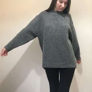 Zara oversized knit sweater