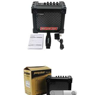 ELE001| 10W Electric/ Acoustic Guitar Amp Built-in Tuner 8 Preset Sound and 4 Effect Modes Amplifier Speaker