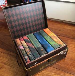 Harry Potter Complete Set Hard Bound with Chest
