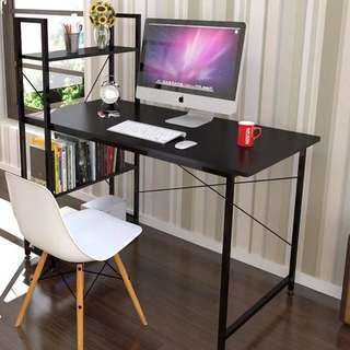 Computer Desk with Shelf Office Table Furniture