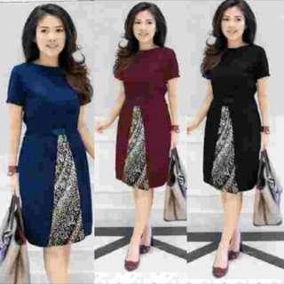 Dress Kombi Batik
