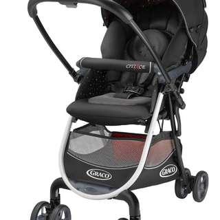 Graco Citi Ace Stroller Black (Polka Dot)