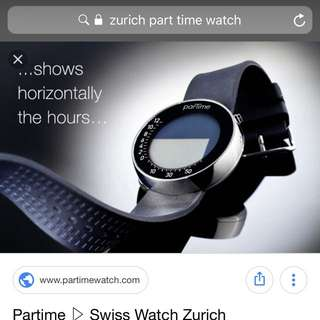 Zurich ParTime watch