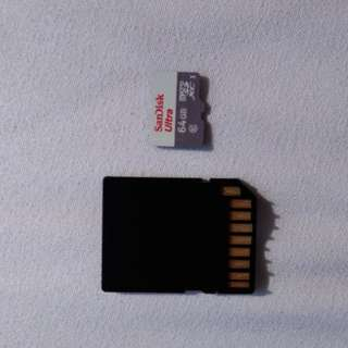 Sandisk 64gb MicroSD with adapter