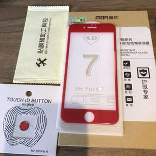 Mofi iPhone 6/6s/7 4D Tempered Glass