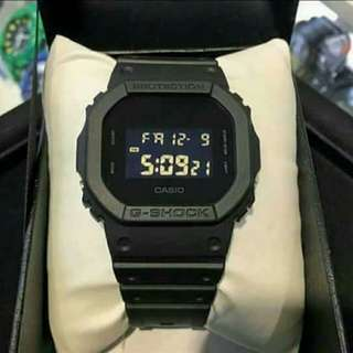 Oem casio g-shock black