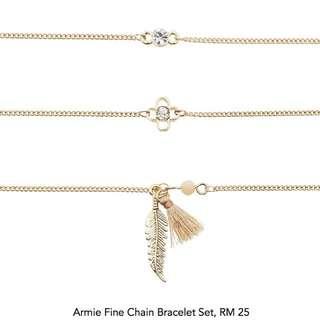 Set 3 pcs charm bracelets
