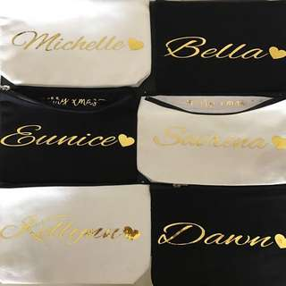 Personalised Name Pouch