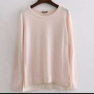 (USED) Theory 100% CASHMERE sweater (Size M) - sample