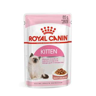 Royal Canin Second Age Kitten 85g Pouch Wet Food Cat