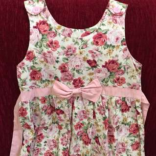 Little Fairy Collection Flowery Dress (6-8Y)