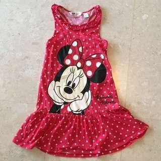 H&M Disney Minnie Mouse Dress