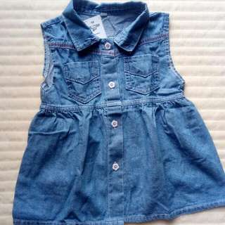Sackdress Jeans Anak