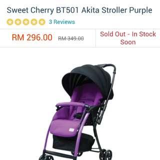 LightWeight Stroller for travel