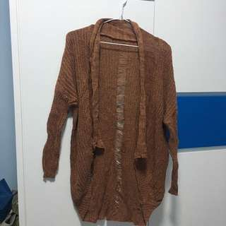 Brown stylish outer