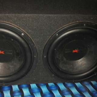 Triple x 12in subwoofer